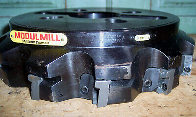 Sandvik Modul Mill Ra280.6 Face Slab 9-34 2-12 4 Bolt Milling Machine Cutter