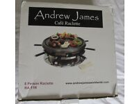 Andrew James Raclette Grill (8 Person) | Used Once