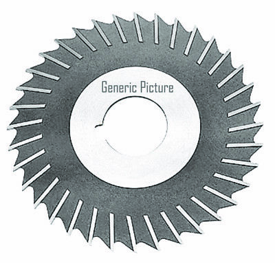 HSS Import Plain Teeth Side Milling Cutter 5 DIA x 1 Face x 3//32x1 Hole