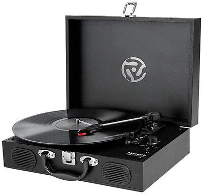 Numark PT-01 Touring Record Player portable suitcase-style turntable