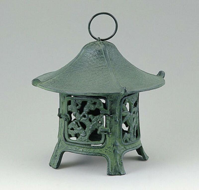 Toro Japanese Bronze Hanging Lantern Takaoka Craft Shochikubai 17205 Japan