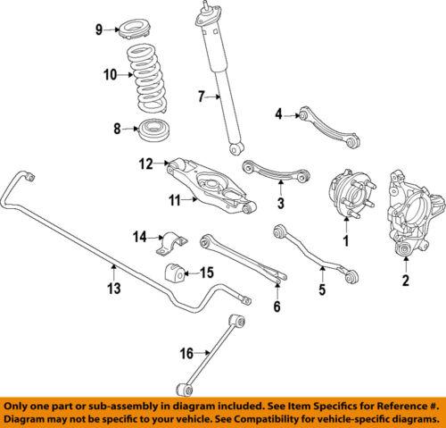 2008 dodge charger engine diagram chrysler oem rear suspension strut rod 68051639ab ebay  chrysler oem rear suspension strut rod