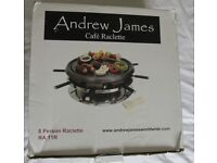 Andrew James Raclette Grill (8 Person)   Nearly New