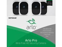 Arlo Pro 4 Camera Kit, Brand New and Sealed