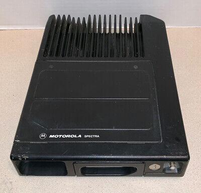 Motorola Spectra Vhf Radio T83gxa7ha9ak 146-174 Mhz 110w Wexternal Speaker Port