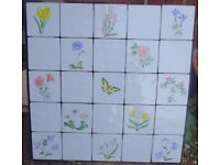 BEAUTIFUL HAND-PAINTED TILES