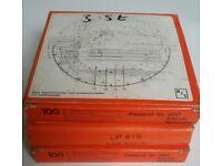 1 box (100 charts) Analogue Tachograph Charts 140 km/h (Read description)