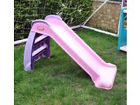 Little Tikes Toddler Slide in Pink and Purple