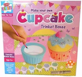 DIY - Make your own Cupcake Trinket box