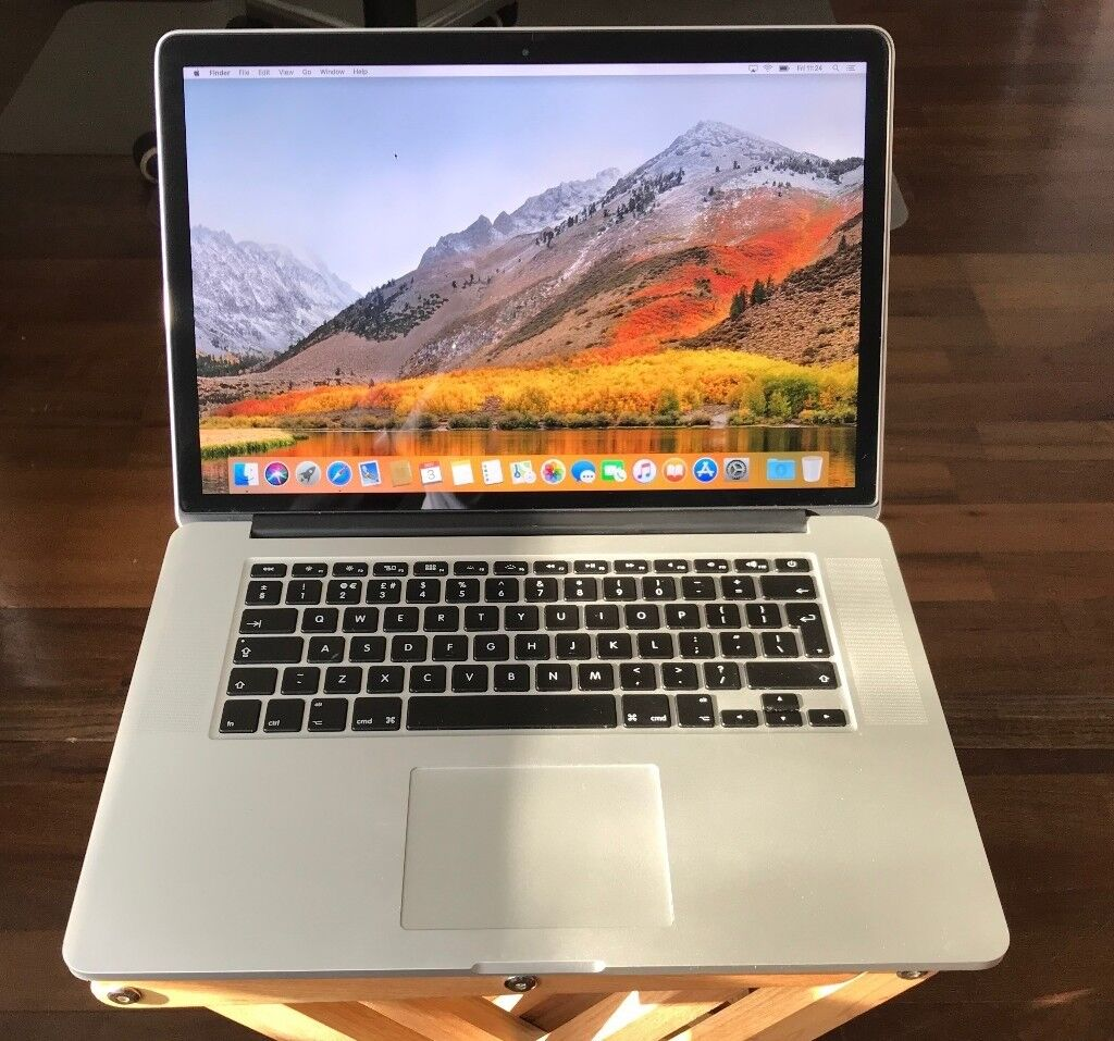 macbook pro retina 15 inch mid 2015 top spec 16gb ram 1tb ssd 2 8ghz in hornsey london. Black Bedroom Furniture Sets. Home Design Ideas