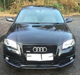 Audi A3 2.0Tdi (170bhp) Quattro Black Edition