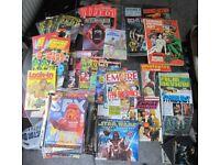 Various STAR WARS Magazines and Annuals. Original trilogy and Phantom menace