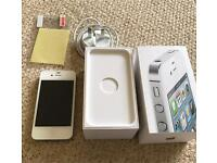 Apple iPhone 4s 16gb White Excellent Condition