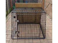 BARJO STRONG QUALITY DOG CAGE Used in Ford Galaxy
