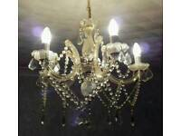 BEAUTIFUL MARIE THERESE STYLE CHANDELIER