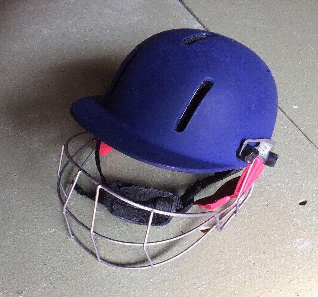 Cricket Helmet Junior 54-59cm - Gunne & Moore Purist Pro steel grille | in  Ferndown, Dorset | Gumtree