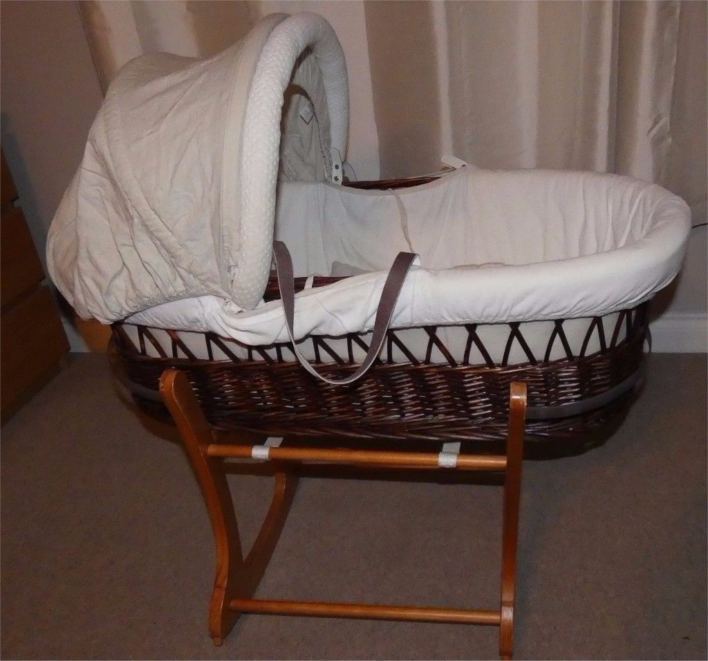 Nursery Furniture Baby Well-Educated Brand New Moses Basket
