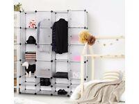 white Portable closet 12 Cube………smoke free home