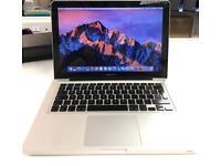 Apple MacBook 13 2010 - Sierra - Intel 2 Duo - 2GB Memory - 500GB HDD