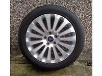 Unused spare multispoke alloy road wheel for 2009 Ford C-Max 2.0Tdci.