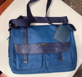 New PQuadro Blue Business Bag