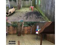 Driveway patio decking drive block paving cleaning jet washing pressure wash weed moss algae removal