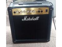Marshall MG15CD 15 watt 1x8 combo amp