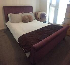 NEXT Double Bed & Mattress