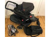 Phil and Ted DOT Double Buggy WITH Cocoon - £225 (ONO)
