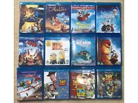 12 animation bluray dvds