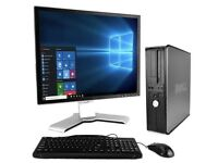 Dell Desktop PC with Monitor, Keyboard & Mouse