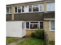 Two double bedroom, unfurnished house in Tilehurst, avail NOW no pets, no HB.