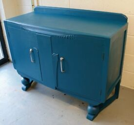 Upcycled Art Deco Sideboard / Cupboard