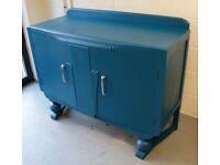 Upcycled Art Deco Sideboard / Cupboard