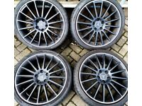 """19"""" Mercedes alloys with excellent tyres"""