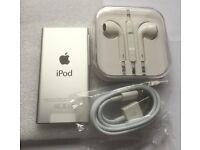 New - Apple iPod Nano 7th gen - 16GB - silver