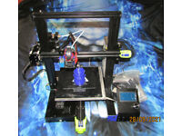 3D printer with filament