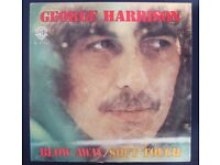 Beatles GEORGE HARRISON uk 7' Singles / Albums