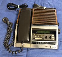 Vintage GE General Electric FM/AM / Alarm Clock / Radio / Telephone Combo 7-4722