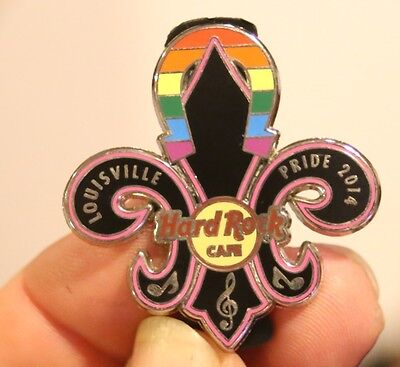 Hard Rock Cafe pin, Louisville Gay PRIDE 2014, excellent