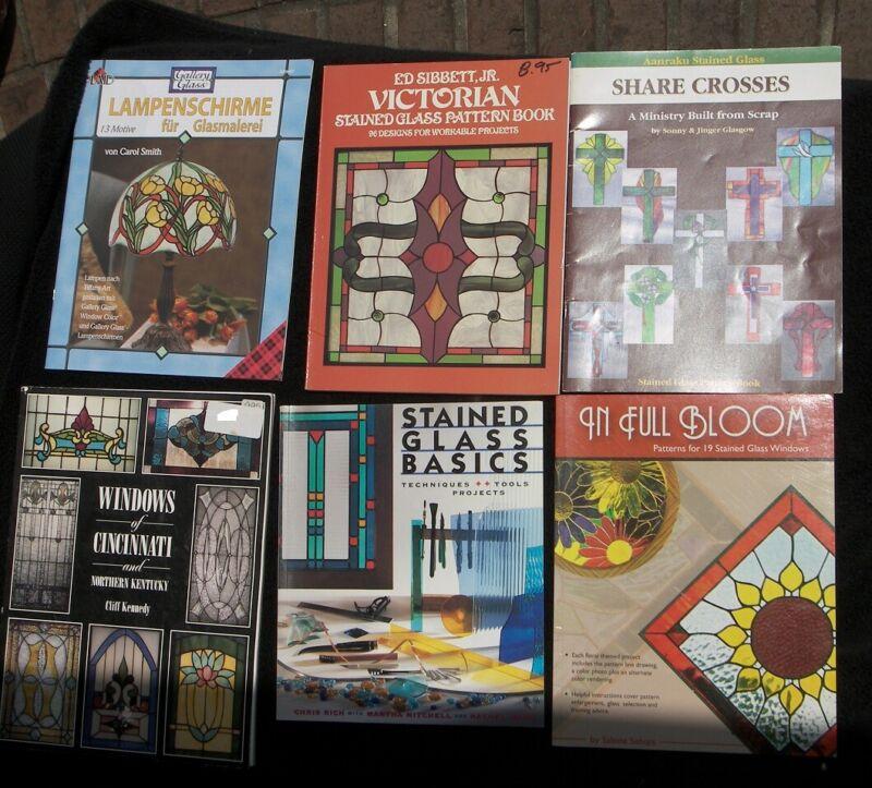 6 Bk Basics Stained Glass Patterns Aanraku Share Christian Crosses Victorian