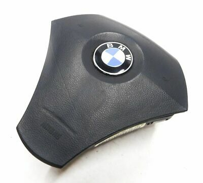 2004 BMW 525i (E60) LEFT FRONT DRIVER STEERING WHEEL AIRBAG AIR BAG