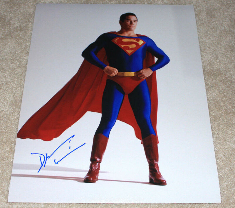 DEAN CAIN SIGNED AUTHENTIC 'SUPERMAN LOIS AND CLARK' 11X14 PHOTO D w/COA ACTOR
