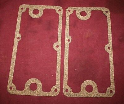 Pair John Deere E 1.5 Hp Oil Pan Gaskets Gas Engine Motor Hit Miss Flywheel