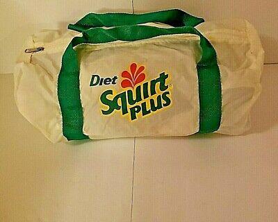 Diet Squirt Plus Tote Duffel Bag Collectible Vintage