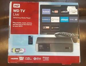 WD TV LIVE STREAMING MEDIA PLAYER *SPARINGLY USED* Casey Area Preview