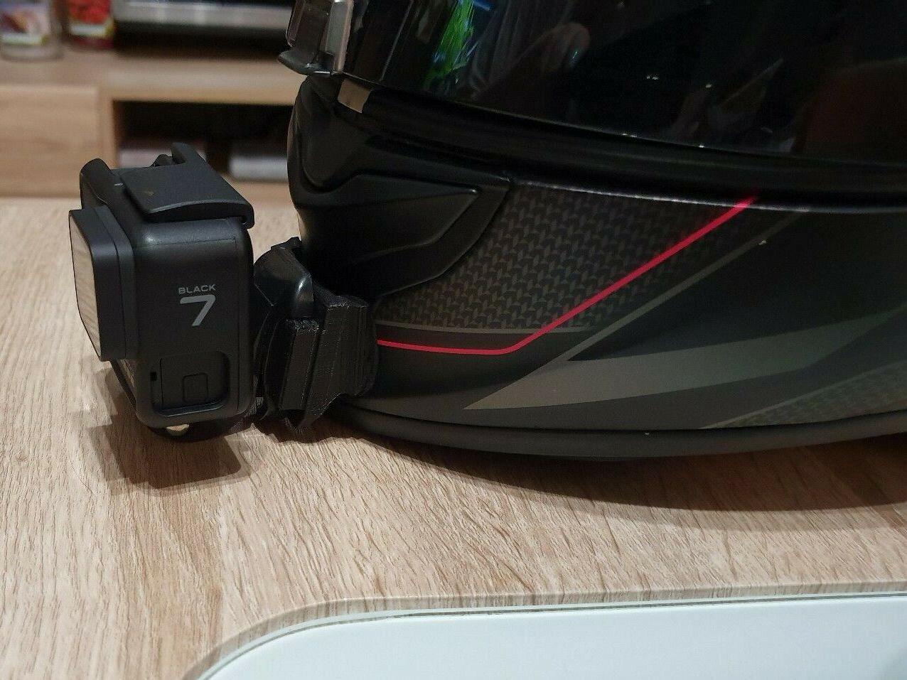 Mount Scorpion Exo Air 1400 Action Cam Halterung Kinn für Gopro