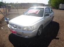 2001 Hyundai Accent Hatchback 5 speed manual Holtze Litchfield Area Preview