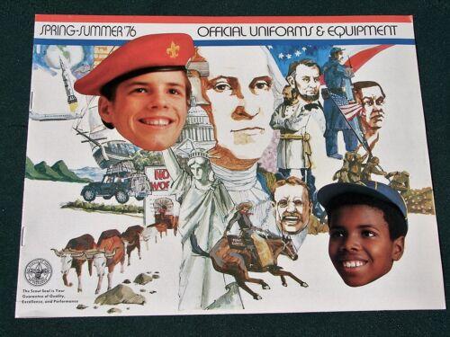 Boy Scout Official Uniforms & Equipment - 1976 BSA Catalog