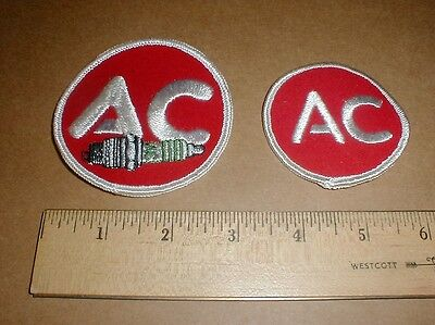 vtg AC Delco Spark plug New Original GM Drag Racing jacket hat patch patches Ac Delco Racing
